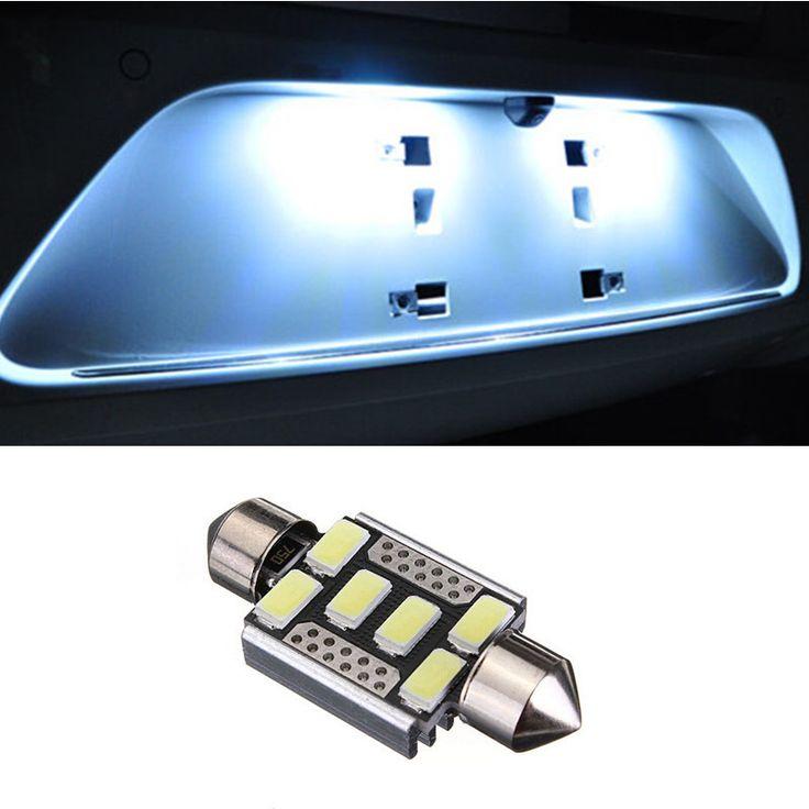 $2.40 (Buy here: https://alitems.com/g/1e8d114494ebda23ff8b16525dc3e8/?i=5&ulp=https%3A%2F%2Fwww.aliexpress.com%2Fitem%2F1pcs-Car-Styling-Canbus-License-Plate-Lights-Led-Dome-Festoon-6SMD-5730-For-Skoda-Octavia-Superb%2F32742638001.html ) 1pcs Car Styling Canbus License Plate Lights Led Dome Festoon 6SMD 5730 For Skoda Octavia Superb for just $2.40