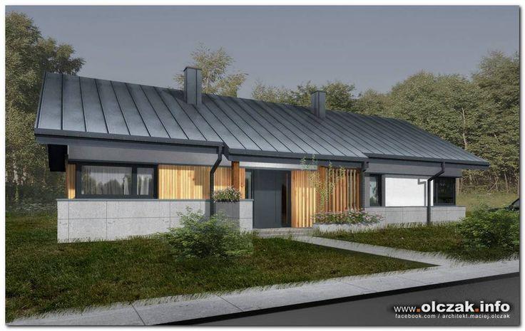 Architekt Maciej Olczak - dom bez stropu