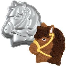 New-Wilton-PARTY-PONY-HORSE-CAKE-PAN-Barn-Birthday-Party