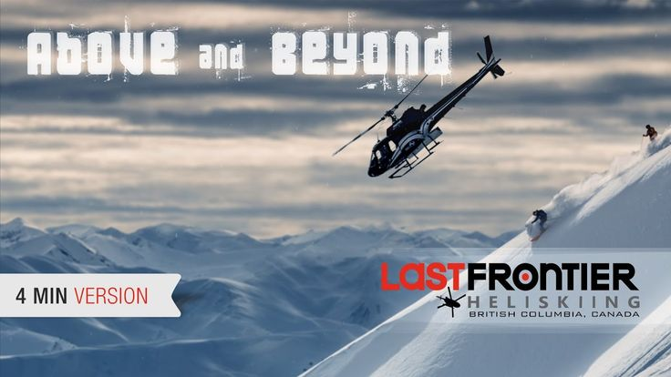 Soar high above the magnificent Coast and Skeena Mountains of Northern BC in our new heliski flick, Above and Beyond. More info: http://www.lastfrontierheli.com
