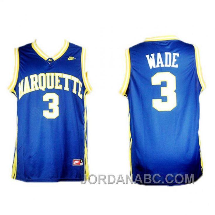 http://www.jordanabc.com/dwyane-wade-marquette-college-3-blue-jersey-cheap-to-buy.html DWYANE WADE MARQUETTE COLLEGE #3 BLUE JERSEY CHEAP TO BUY Only $69.00 , Free Shipping!
