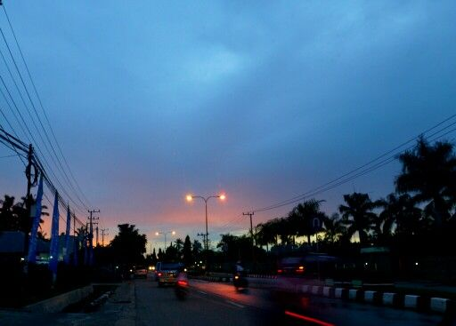 After the Sunset, Bontang ....