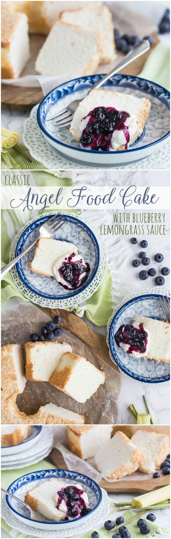 Classic Angel Food Cake: perfectly sweet