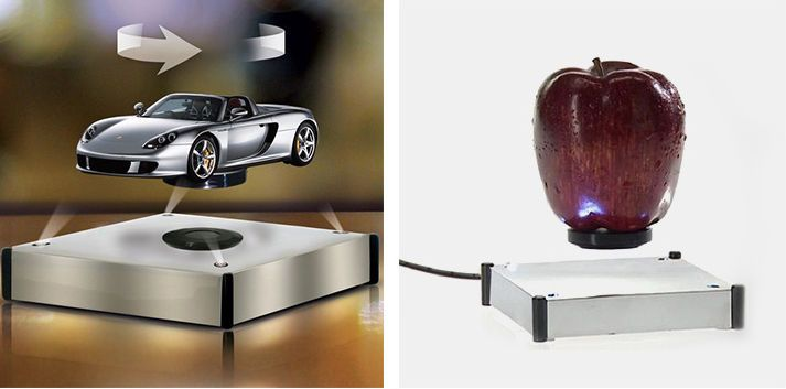 Maglev Auto Rotating holder Stand Magnetic Levitation Display Showcase