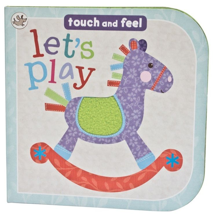 Little Me Let's Play Touch & Feel Book