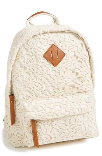 crochet back pack - I LOVE THIS!!!                                                                                                                                                     Mais