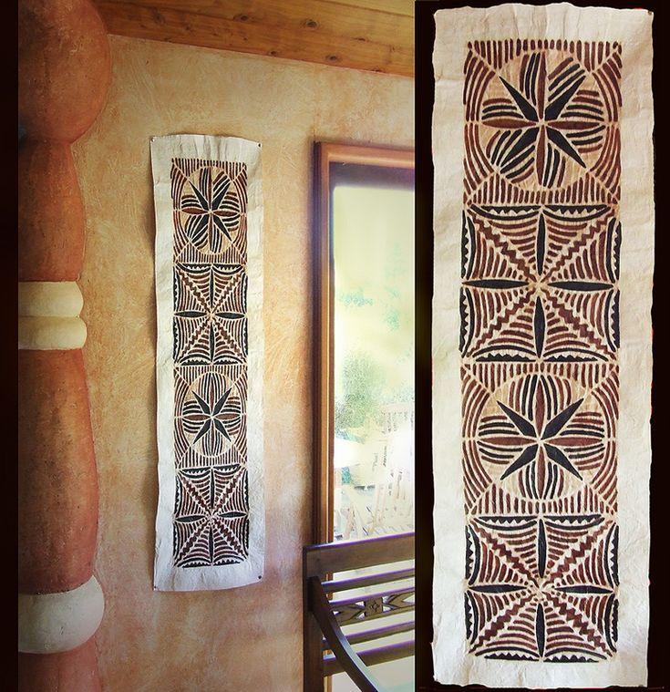 Samoa | Saipo | Tapa Cloth