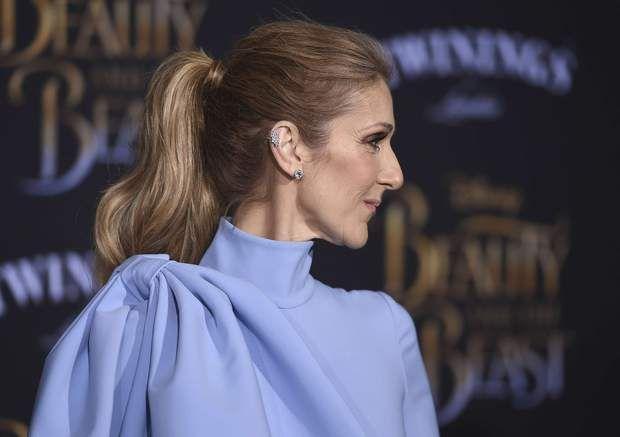 Céline Dion à Los AngelesToujours à la pointe de la tendance, elle arbore l'accessoire indispensable de la saison: des piercings - et même dans son cas, plusieurs à chaque oreille.