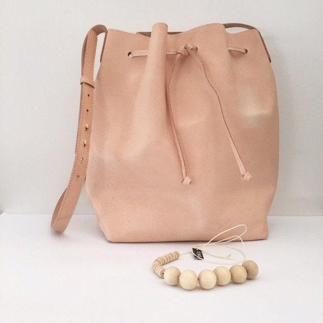 Bag Bucket Sara | Leather