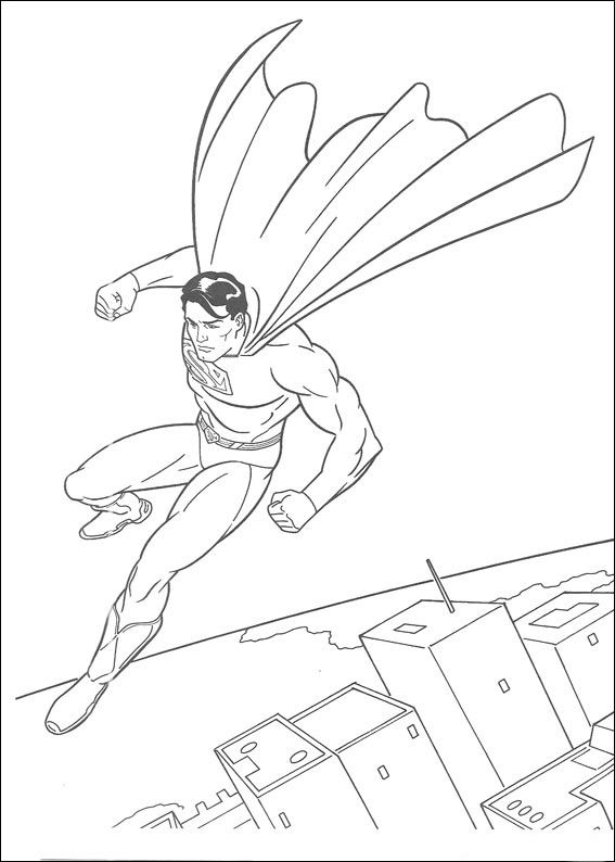 superman 30 ausmalbilder für kinder. malvorlagen zum