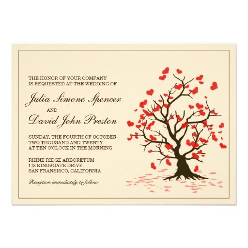 72 best images about Printed Wedding Invitation Templates – Fall Party Invitation Template
