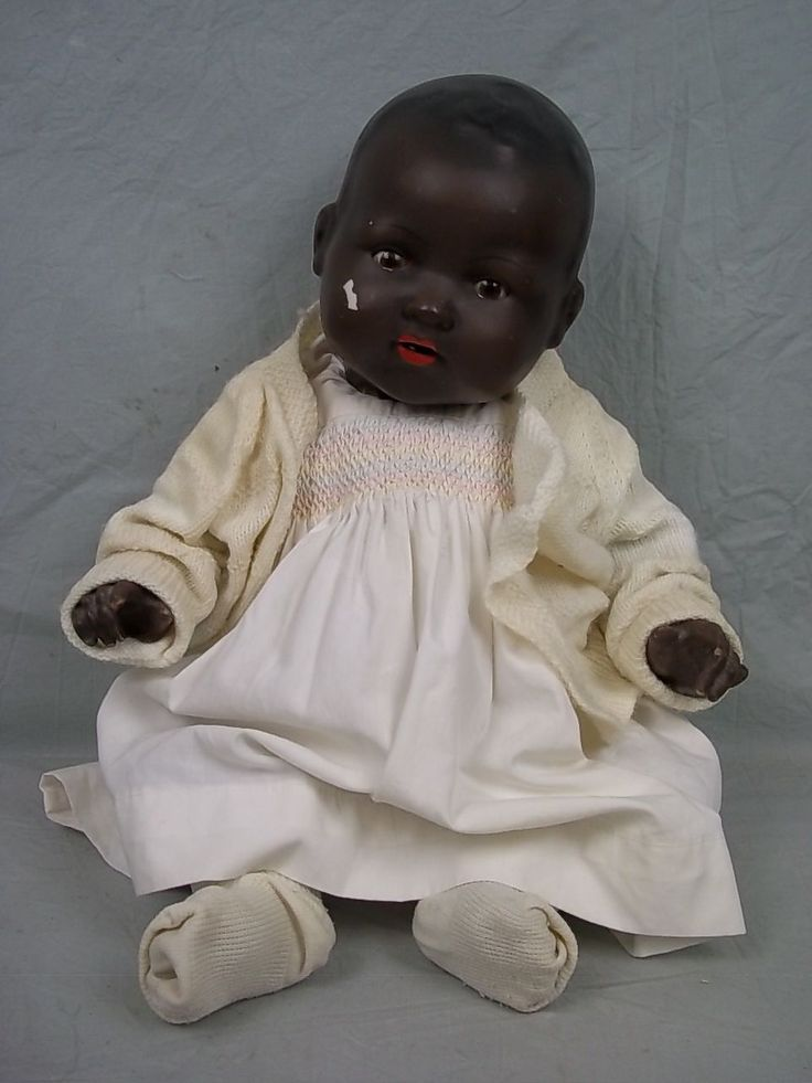 Armand Marseille Germany Black Dream Baby Doll 351 8 K