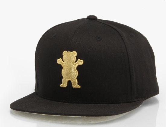 OG Bear Snapback Cap by GRIZZLY GRIPTAPE x BEN BALLER