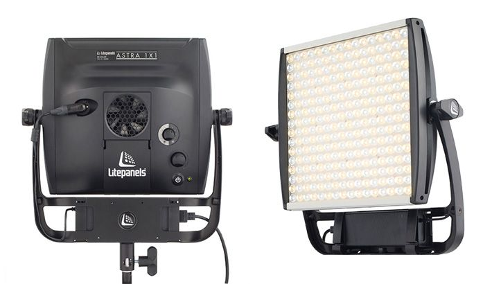 "New LitePanels Bi-Color LED Light ""Astra,"" Four Times Brighter Than The Original 1×1"