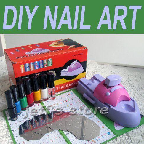 25 unique nail printer ideas on pinterest nail art printer nail printer diy nail art stamping printing machine polish prinsesfo Choice Image