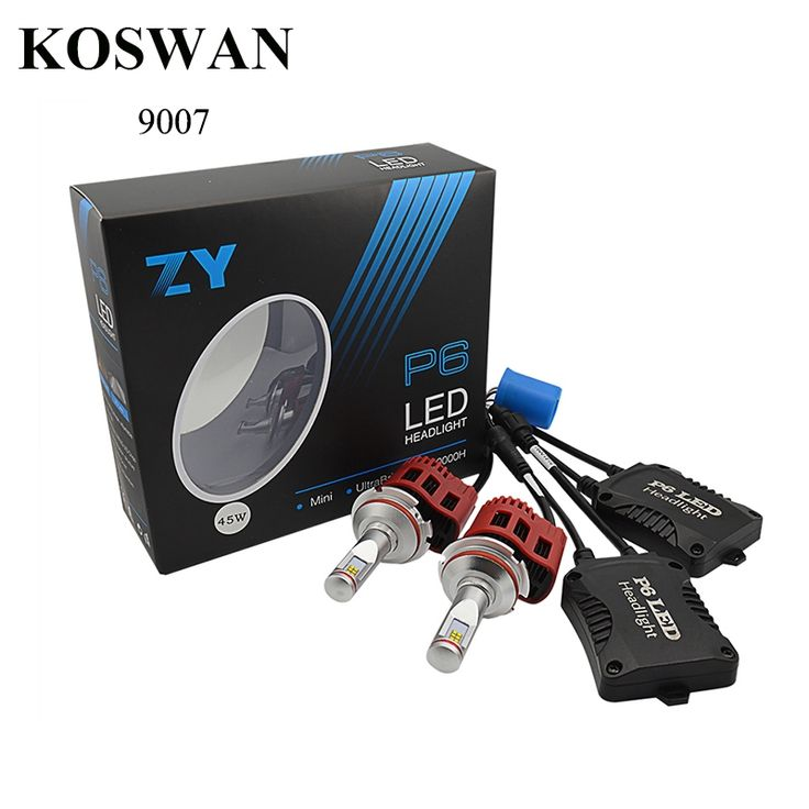 (74.00$)  Watch more here - http://aiofx.worlditems.win/all/product.php?id=32721256030 - Pair Of P6 9000LM 90w 9007 Led Headlight Lamp Hi/Lo Auto Led Car Headlight Bulbs 9007 Led Headlight Bulb 5000K 6000K 4000K 3K