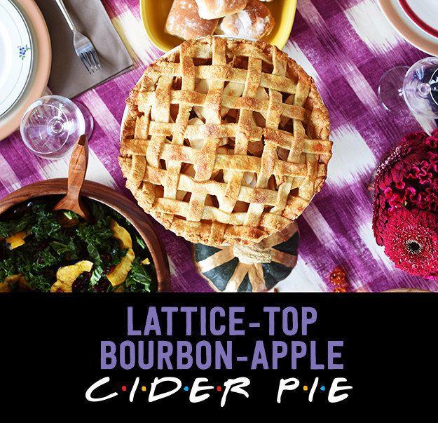 How To Make Lattice-Top Bourbon-Apple Cider Pie For Friendsgiving