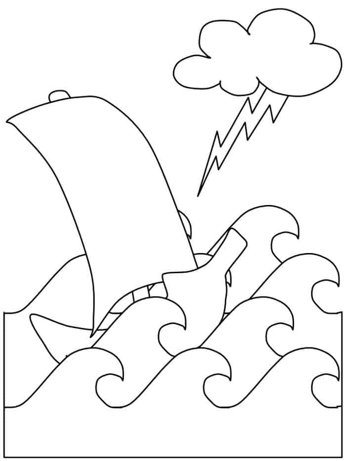 Cute Tornado Coloring Pages In 2020 Coloring Pages Camping Coloring Pages Shark Coloring Pages