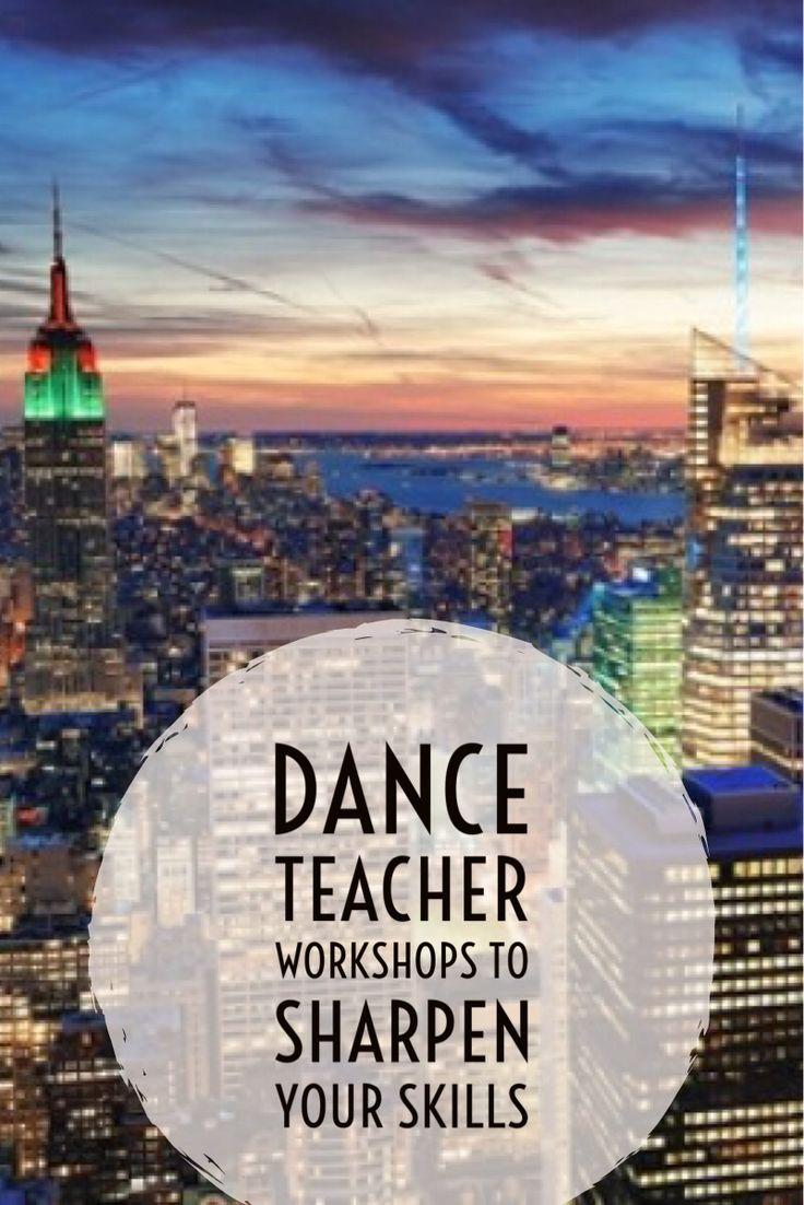 Dance Teacher Workshops to Sharpen Your Skills
