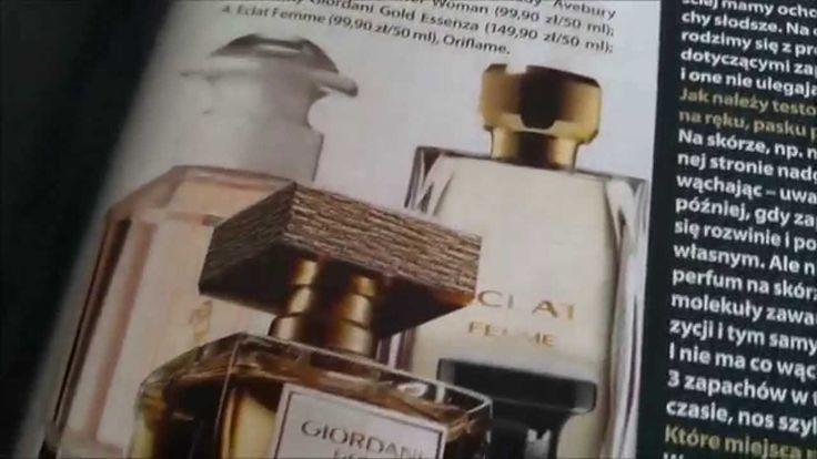 Kobieta i perfumy. Claudia i Oriflame