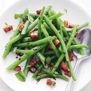 Sperziebonen met spekjes recept - Groente - Eten Gerechten - Recepten Vandaag