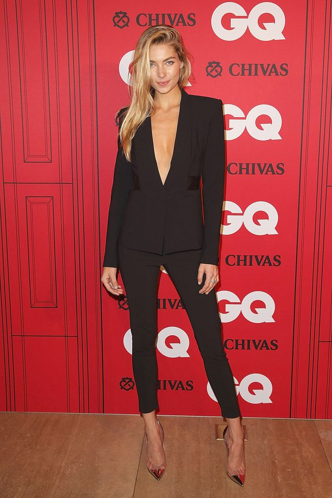 "Jessica Hart at the Australian ceremony ""Man of the Year» GQ"