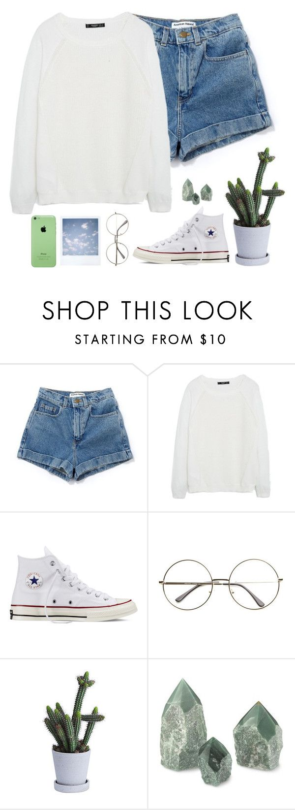 """Youth//Troye Sivan"" by thelonelyheartsclub ❤ liked on Polyvore featuring MANGO, Converse and FUCT"