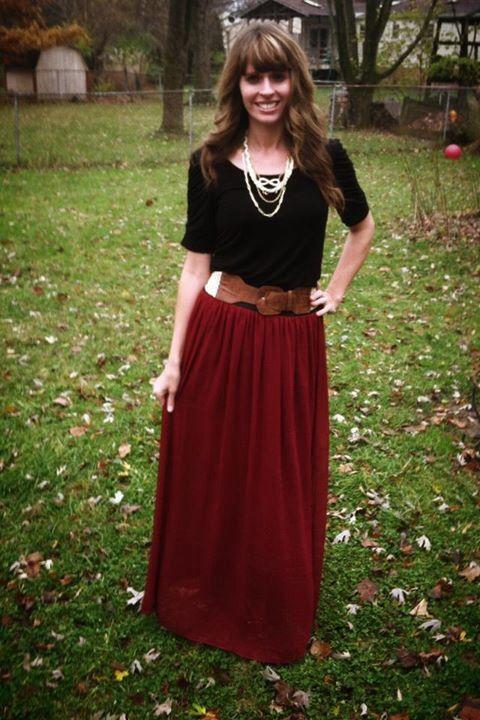 64 best Modest skirt & blouse images on Pinterest | Long skirts ...