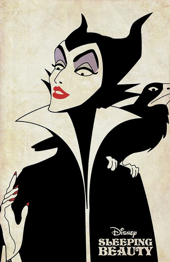 Disney Villains Set The Evil Queen Maleficent by CinnamoonStudios