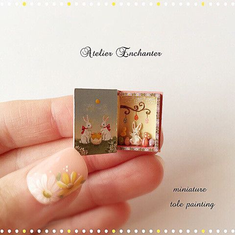 2017.11 Miniature Easter Book By Atelier Enchanter