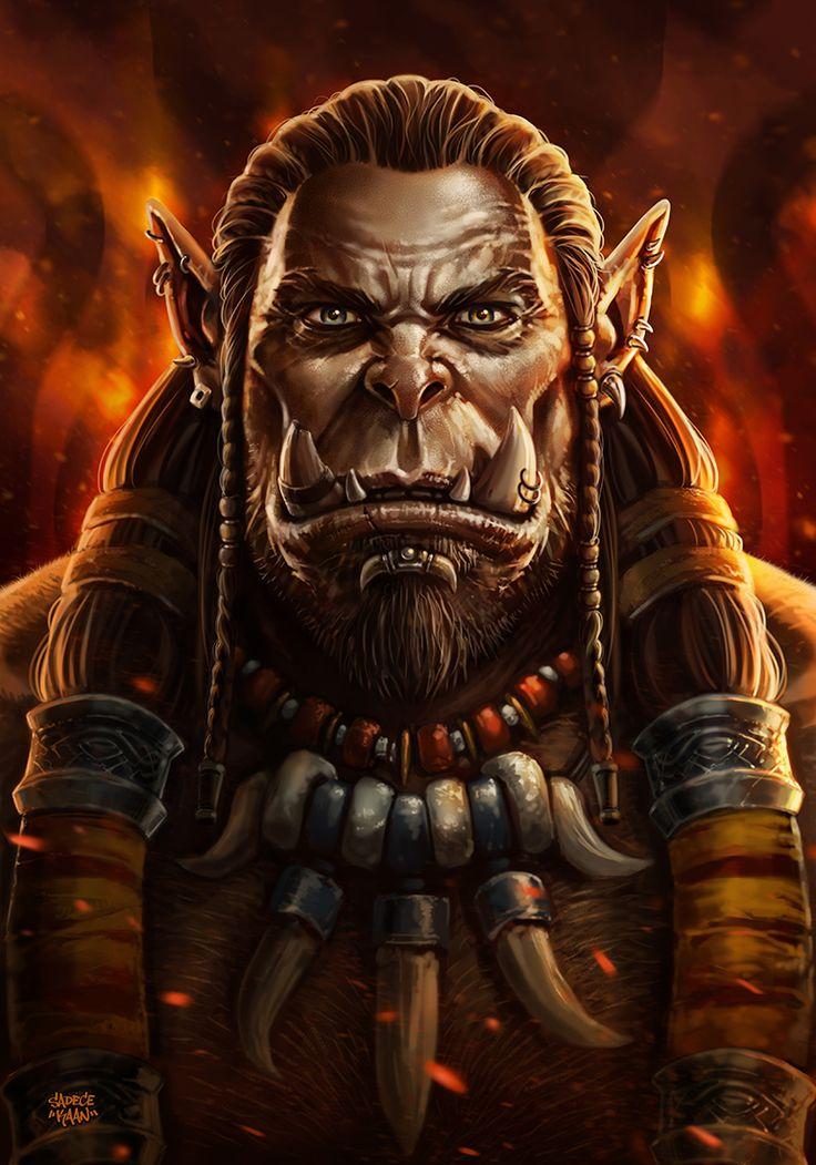 DUROTAN - Warcraft Movie (2016) by sadeceKAAN.deviantart.com on @DeviantArt
