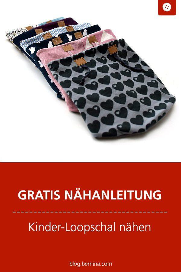 Coudre le foulard Freebook # 5Loop   – Schnittmuster