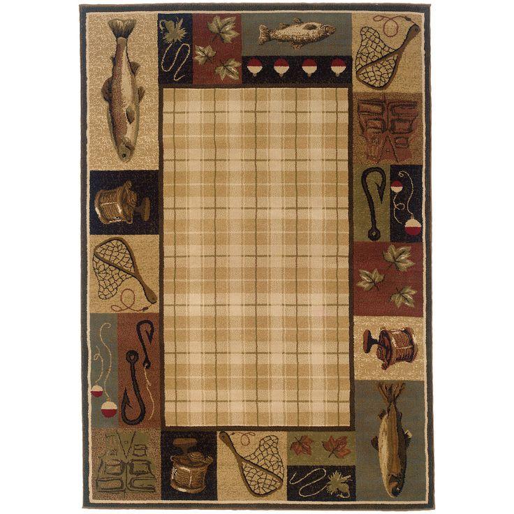 Hudson 1065B Beige Traditional Rug by Oriental Weavers
