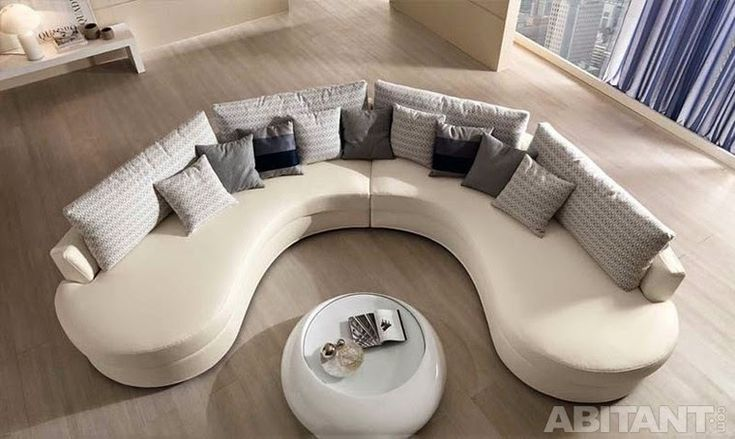 25 Best Ideas About Curved Sofa On Pinterest
