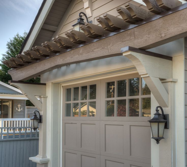 Role Of Garage Door In Garage Design: 39 Best Garage Overhangs Images On Pinterest