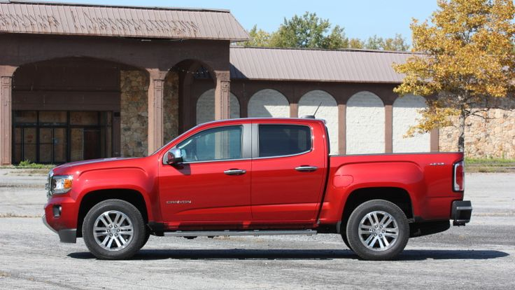 Take one Chevy Colorado Diesel, add a more polished front end, and you've got the new GMC Canyon Diesel. We liked the Chevy, and this GMC's pretty great, too.