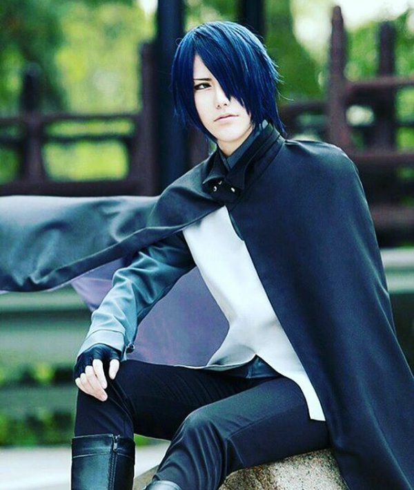 Naruto The Boruto Movie Cosplay Sasuke Uchiha
