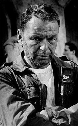 Frank Sinatra - in one of his number of movie roles. (The Young Lions?) - web source photo - MReno