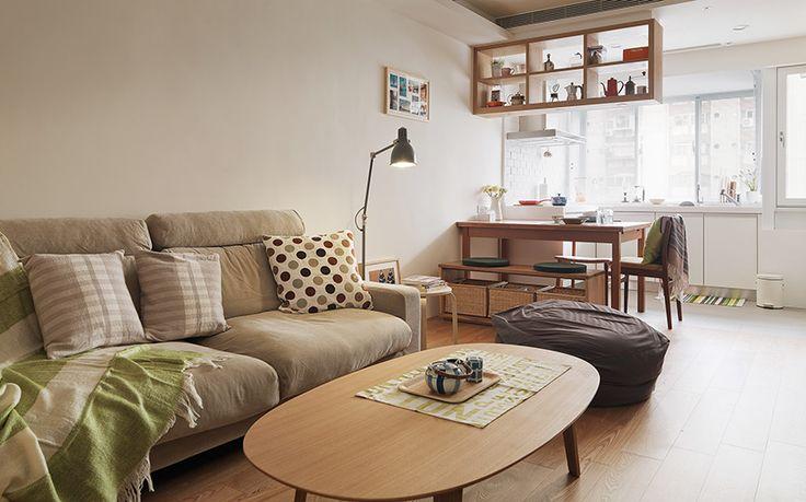 台北 13 坪無印日式風公寓 - DECOmyplace
