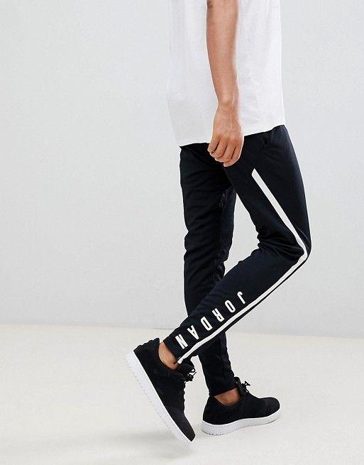 d6c960e3f8c Jordan Alpha Dry Joggers In Black 889711-014 | asos2 | Joggers, Jordans,  Men's fashion brands