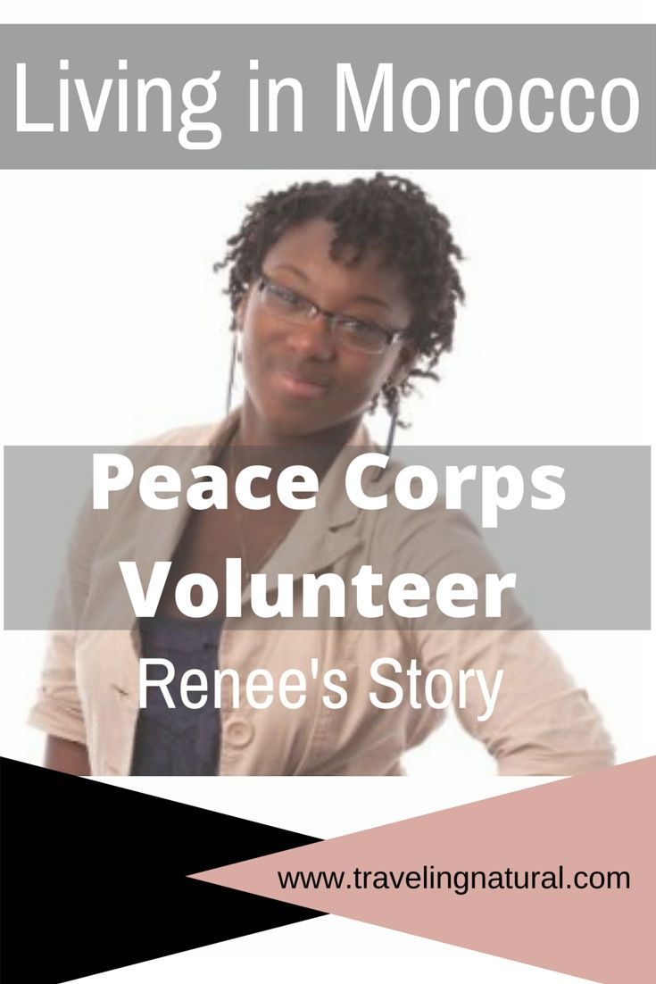 Learn more about Renee's life in Morocco as a Peace Corps Volunteer!