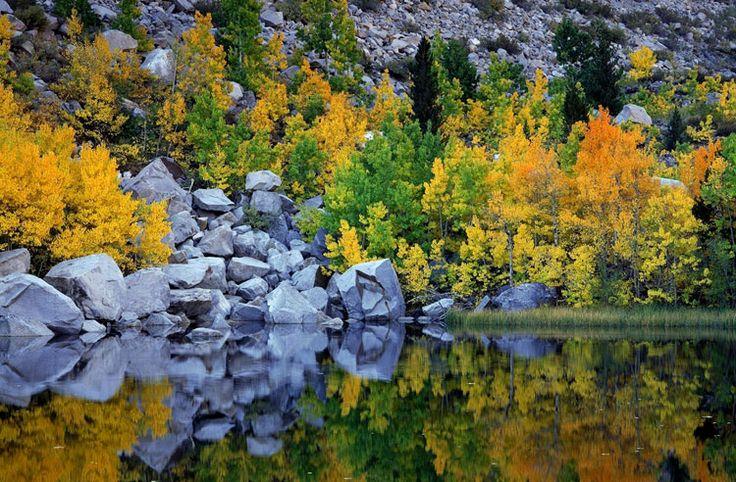 Осень в горах Сьерра-Невада Осень в горах Сьерра-Невада