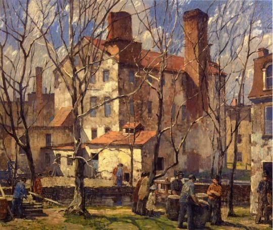 Robert Spencer - A Day in March 1918