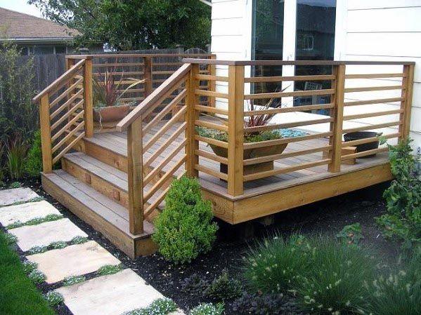 Top 70 Best Deck Railing Ideas Outdoor Design Inspiration Patio Designs