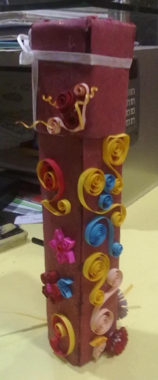 handmade Box for Scroll card