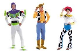 Toy Story Couples Halloween and fancy dress costumes