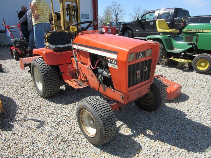 Allis Chalmers 716 Lawn Amp Garden Tractor Allis Chalmers