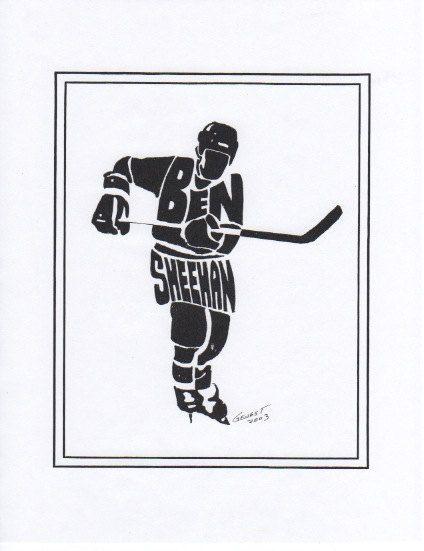 Personalized Sport Figure Hockey by PersonalSportsFigure on Etsy