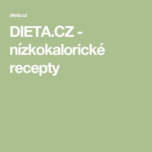 DIETA.CZ - nízkokalorické recepty