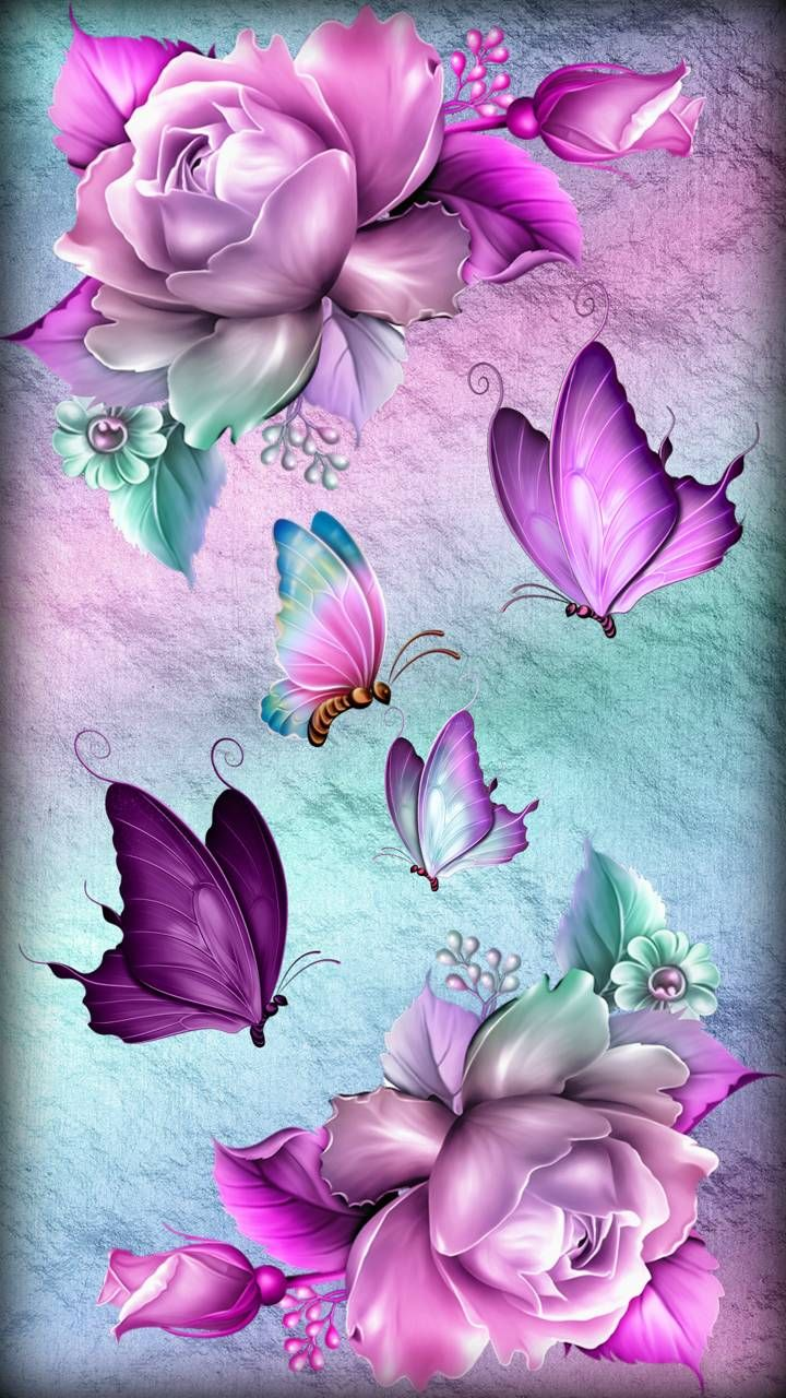 Download Fantasy Roses Wallpaper By Sixty Days 4b Free On Zedge Now Browse Mil Flower Phone Wallpaper Butterfly Wallpaper Backgrounds Butterfly Wallpaper Fantastic flower wallpaper download